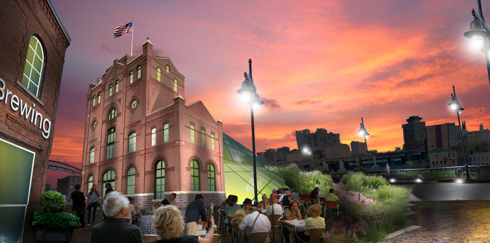 Speak out for a larger vision... Rochester's Historic Brewery Square