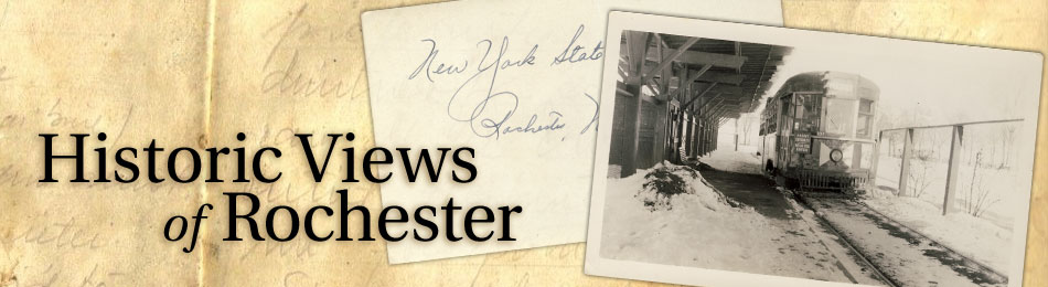 Old Photos and Historical Views of Rochester, NY.