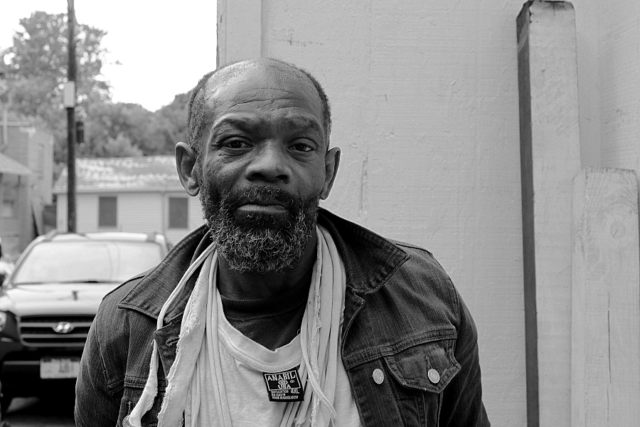 Reggie. A former Kodak employee. Rochester, NY. [PHOTO: Arlene Hodge]