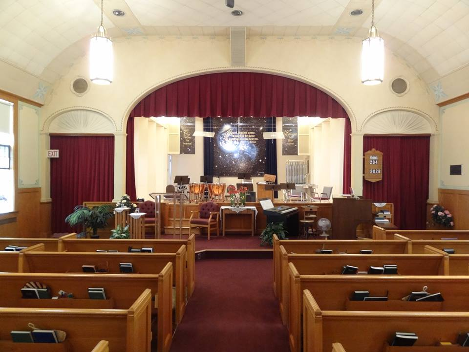 Megiddo Church (Christian Restorationists). Thurston Road. The only Megiddo Church in existence, settled in Rochester in 1906 and essentially founded the 19th Ward. [PHOTO: exploringtheburnedoverdistrict.wordpress.com]