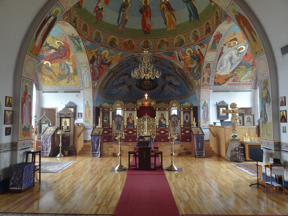 Protection of Our Mother Of God Russian Orthodox Church (Russian Orthodox). Stanford Drive. [PHOTO: exploringtheburnedoverdistrict.wordpress.com]