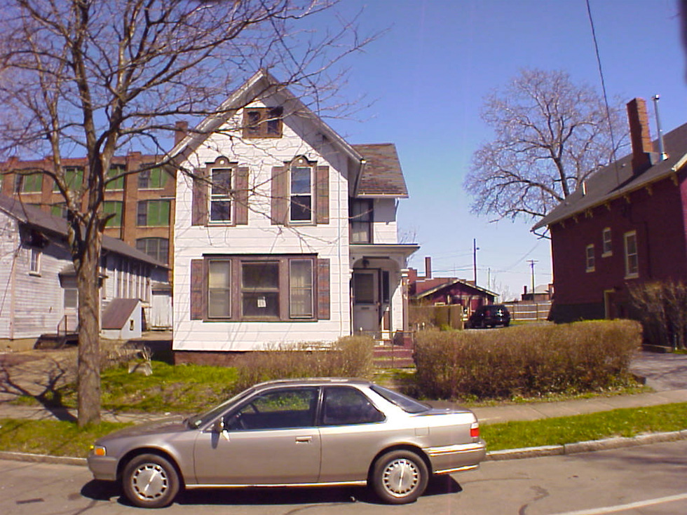 I looked up tired in the dictionary, and found this picture of 34 King Street in the Susan B. Anthony neighborhood.