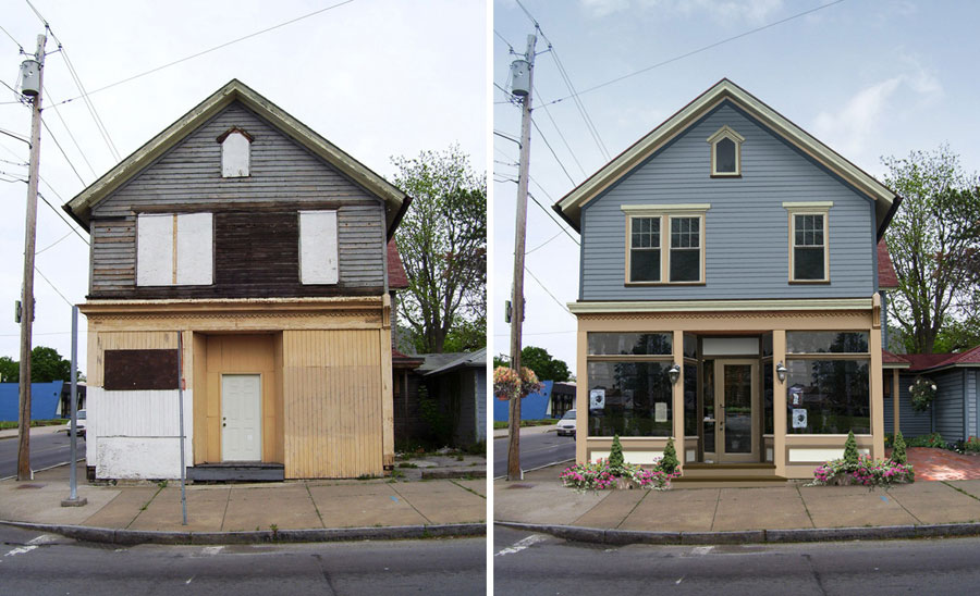 1870's Abandoned Storefront... MAKEOVER!