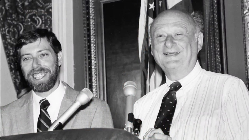Sam Schwartz (left) went on to become NYCDOT's chief engineer during the 1980s.