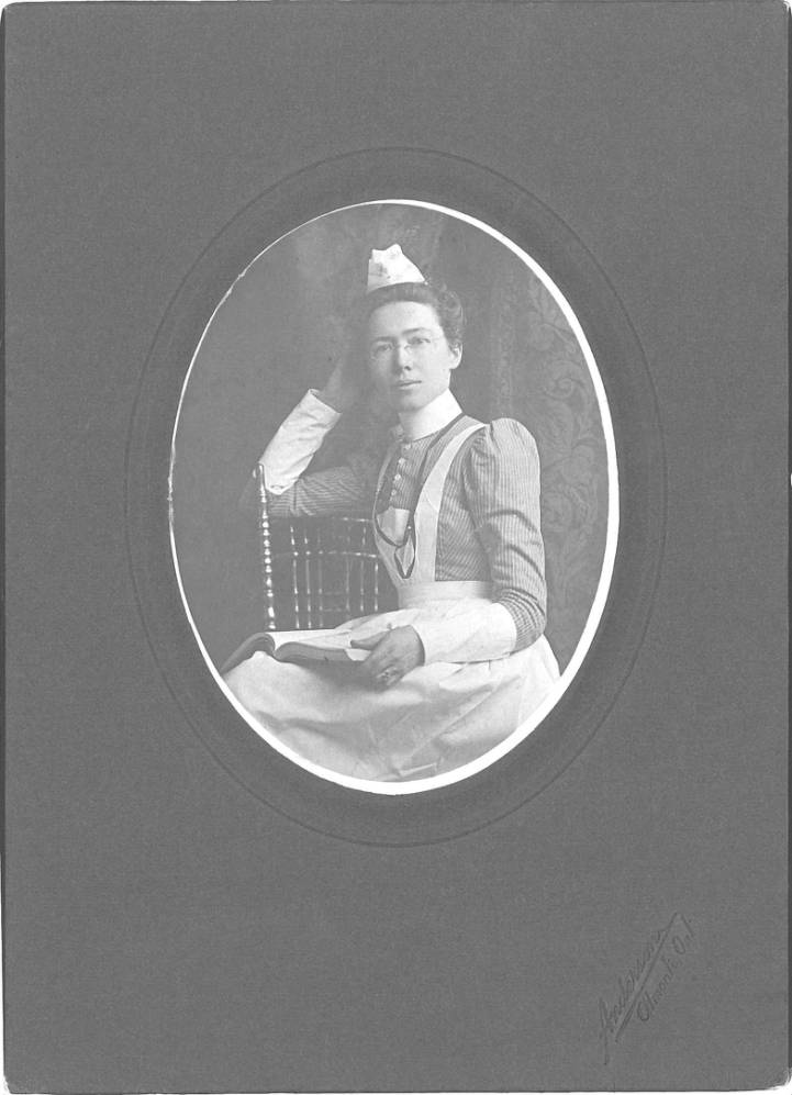 Portrat of Miss Ida Jane Anderson [PHOTO: NyHeritage.org]