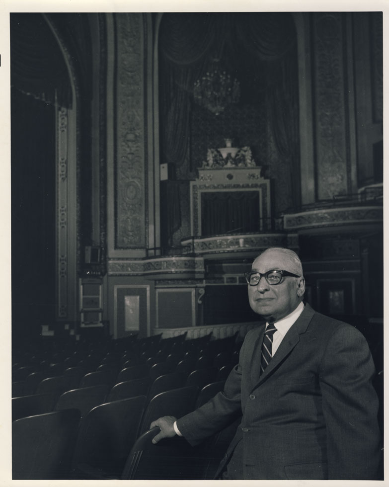 Jay Golden was instrumental in allowing the Rochester Theater Organ Society to keep the RKO Palace's pipe organ in Rochester. If not for his convincing, the organ would have gone to a Long Island broker. [PHOTO: Richard Neidich / Rochester Theater Organ Society]