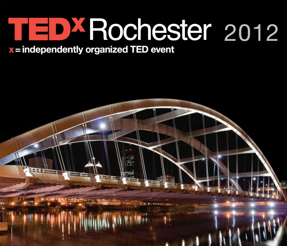 TEDx Rochester is coming, November 5, 2012. RochesterSubway.com wants to take YOU!