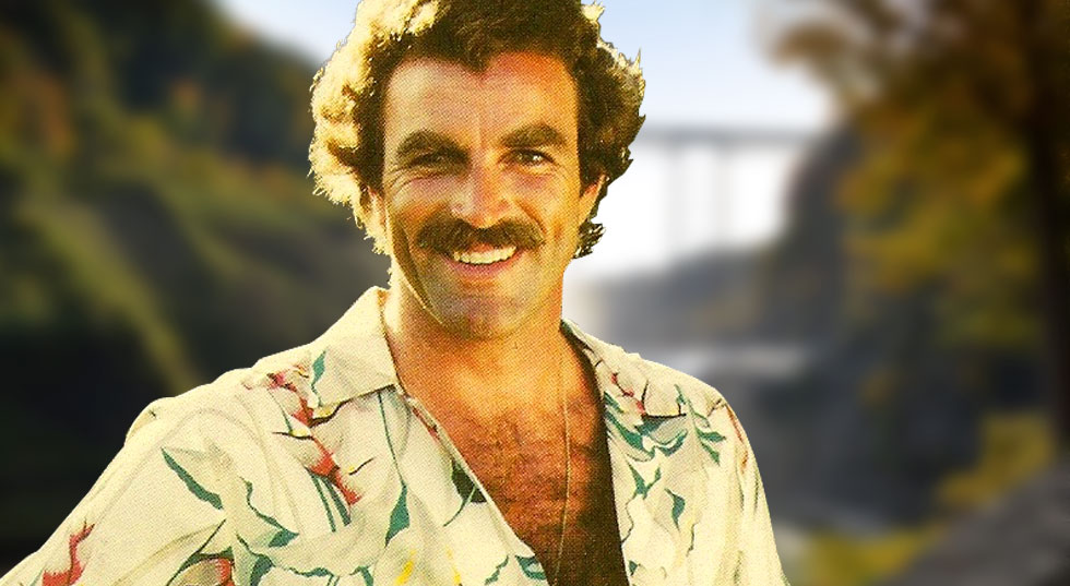 Tom Selleck at Letchworth State Park for RochesterSubway.com