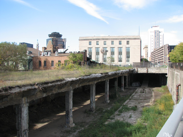 The students made every effort to come up with a plan for the old subway tunnel that would be considerate of various stakeholders. [PHOTO: RochesterSubway.com]