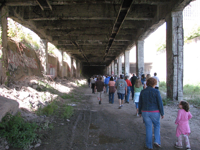 A tour of Rochester's abandoned subway tunnel. [PHOTO: RochesterSubway.com]