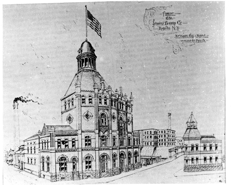 13 Cataract Street was built for Standard Brewing Co. in 1889. It was designed by A.C. Wagner who supervised the construction of over 50 brewery complexes across the country in the late 1800's and early 1900's. This is one of Wagner's original drawings of 13 Cataract Street. [IMAGE THANKS TO: Rich Wagner, pabreweryhistorians.tripod.com]