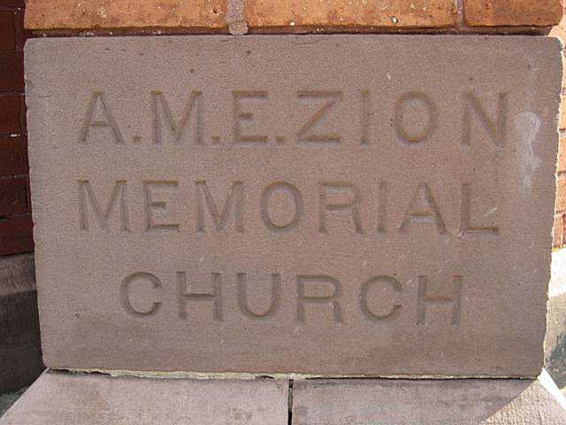 The African Methodist Episcopal Zion Church at 42 Favor Street in the Cornhill Neighborhood. [PHOTO: Nothnagle Realtors]