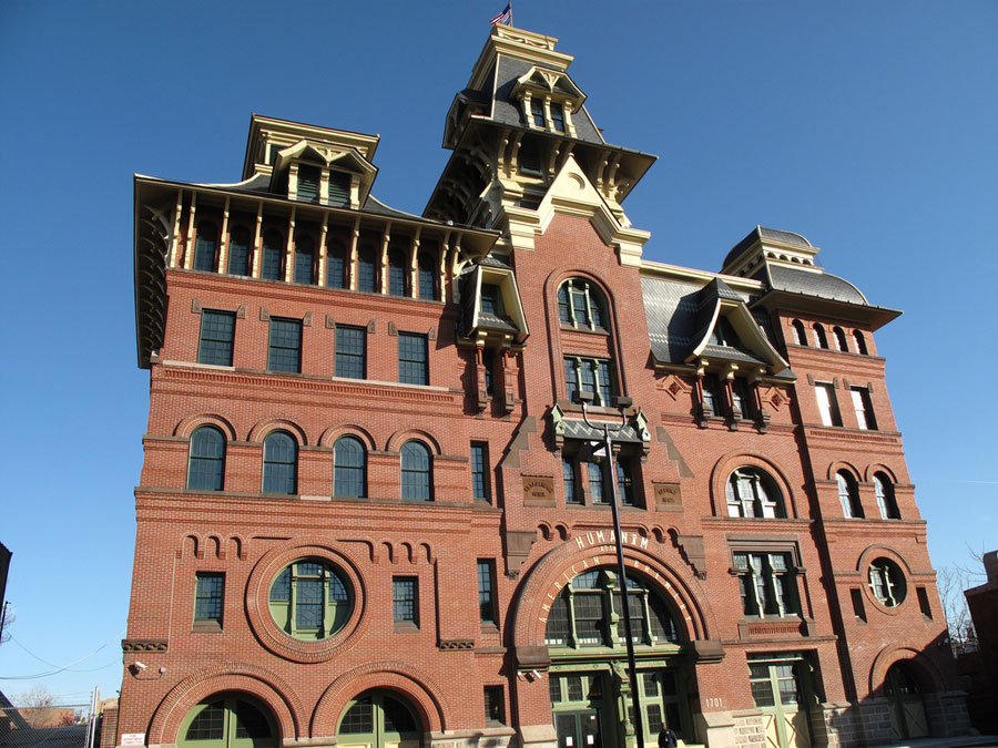 The recently renovated and beautifully restored American Brewery building in Baltimore, Maryland. [Flickr Photo: Prêt à Voyager]
