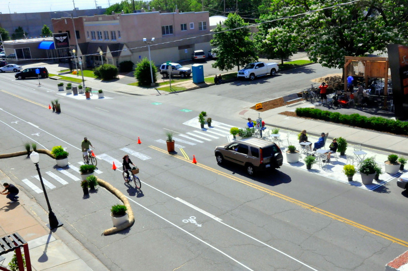 On Saturday, April 25th, from 11am to 7pm, Arnett Boulevard between Rugby Avenue and Wellington Avenue in southwest Rochester's 19th Ward Neighborhood will come alive with events, artwork, and temporary small businesses. [PHOTO: BetterBlock.org]