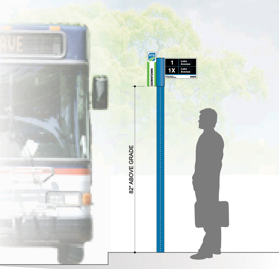 RTS has announced several changes, including new bus stop signs and route numbers. [IMAGE: Rochester Transit Service]