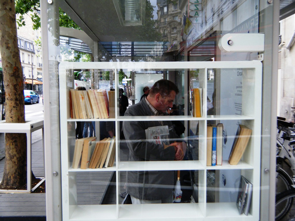 An urban library [PHOTO: Endellion Blog]