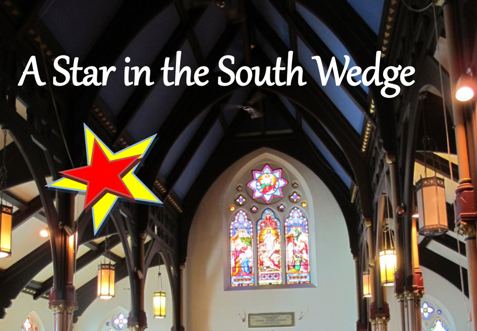 On Sunday (2-5pm) you're invited to a holiday themed celebration at the Calvary St. Andrews church.