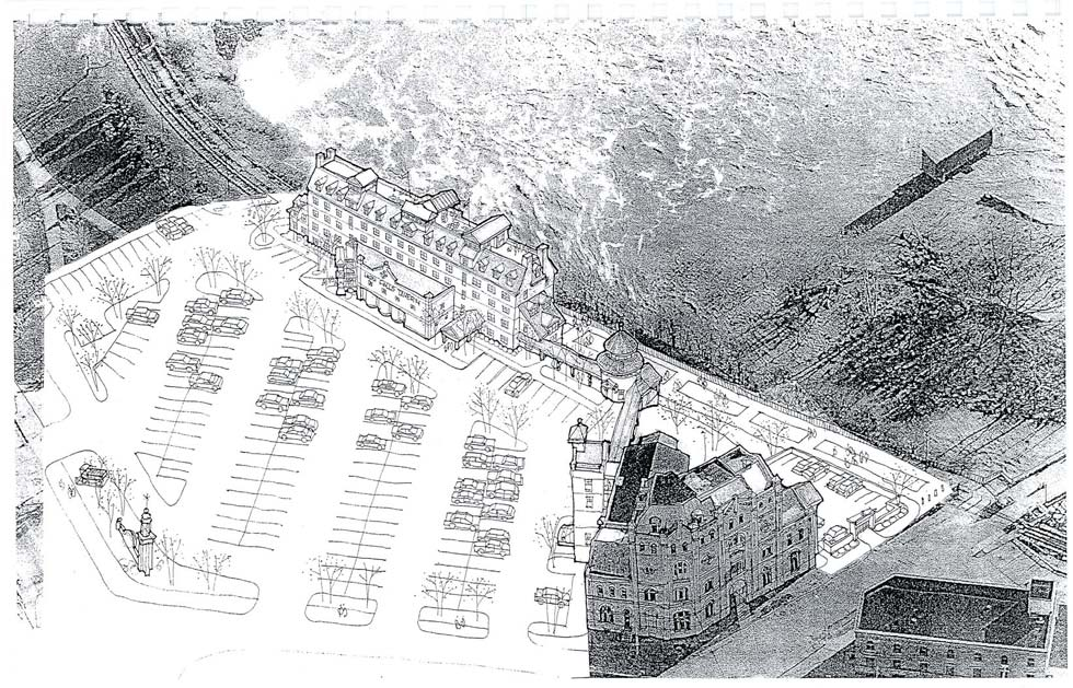 High Falls Brewery District Mixed-Use Development Plan (2006). [High Falls Brewery & Lecesse Construction]