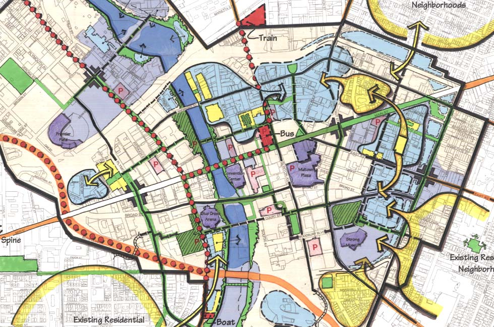 Rochester aims to update its Center City Master Plan. It was last updated in 2003.