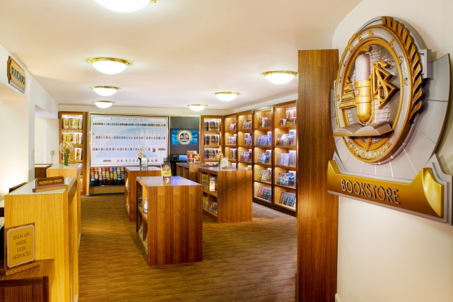 Church of Scientology bookstore, Buffalo, NY. [IMAGE: www.scientologynews.org]