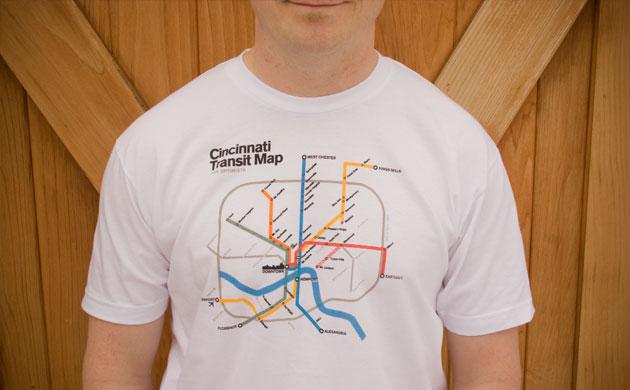 The Cincinnati Transit Map for Optimists.