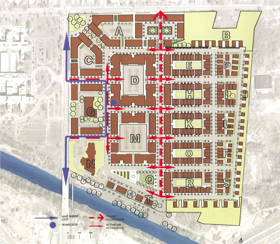 2010 plan for CityGate. [IMAGE: AJ Costello & Son]