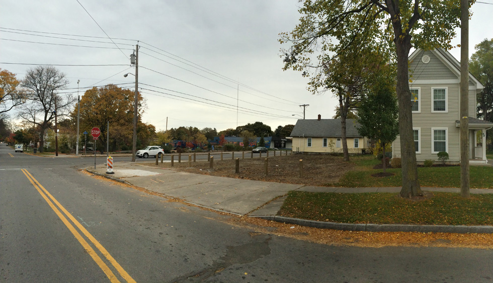 72 Conkey Avenue has been demolished. [IMAGE: RochesterSubway.com]
