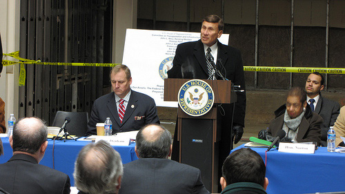 Chairman Mica at a February 10, 2011 hearing on how the federal government continues to sit on its ASSets, including wasting taxpayers' money on underused and vacant federal buildings.