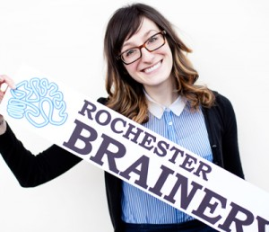 Danielle Raymo, co-founder of Rochester Brainery.