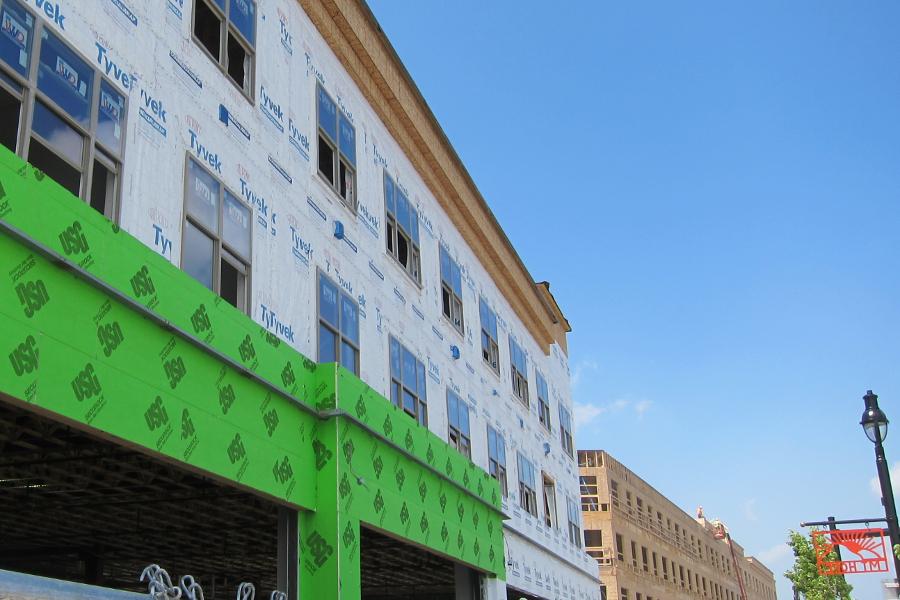 Collegetown Under Construction [PHOTO: Author]