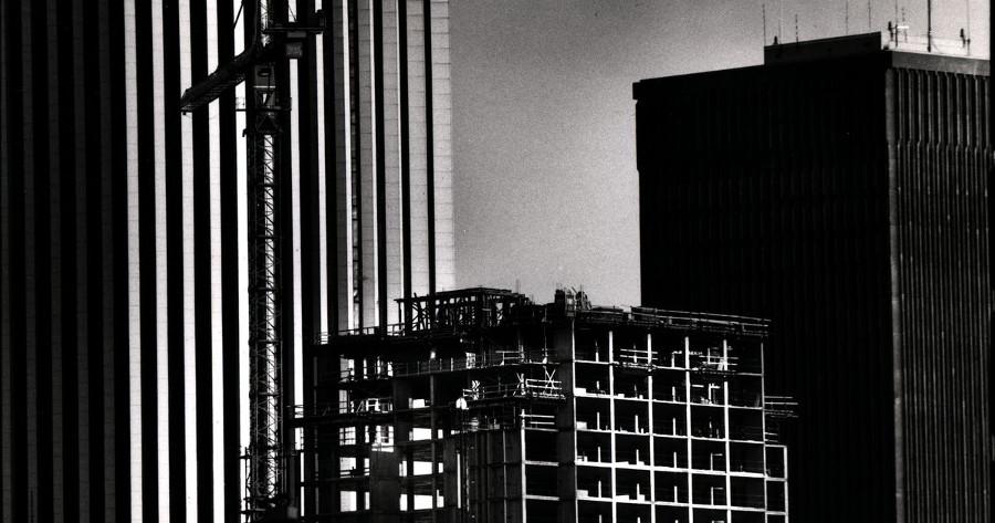 Hyatt Under Construction [PHOTO: Democrat and Chronicle]