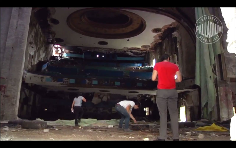 Knoxville takes us inside some beautiful ugly parts of Detroit such as Eastown Theater.