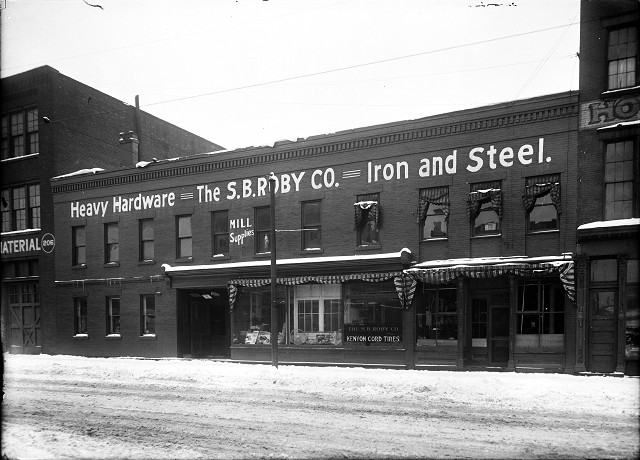 The S.B. Roby Co, Rochester NY. Year unknown. All buildings still stand in 2014. [PHOTO: Albert R. Stone]