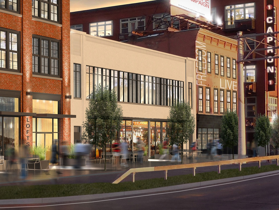 Rendering of Woodbury Place in the near future, Rochester NY. [IMAGE: Provided by Patrick Dutton]