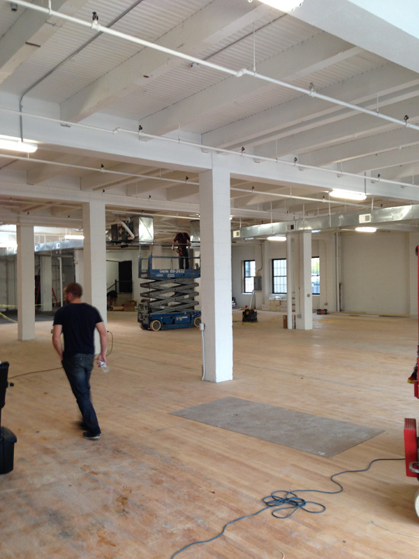 The first floor of 210 South Avenue, Rochester NY. [PHOTO: Steve Vogt]
