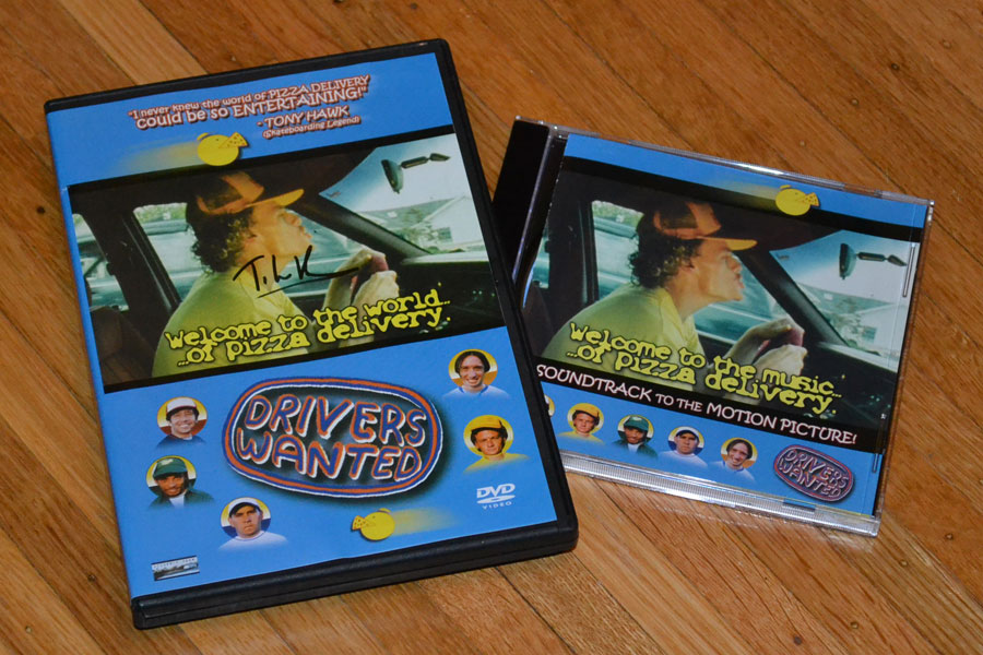 'Drivers Wanted' is a hilarious film about the wild world of pizza delivery drivers written and produced by T. Lee Beideck of Irondequoit. Buy the DVD and get the soundtrack free. I ordered mine last month and it came autographed by Beideck himself!