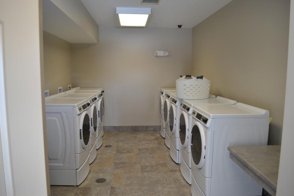 Laundry room. [PHOTO: RochesterSubway.com]