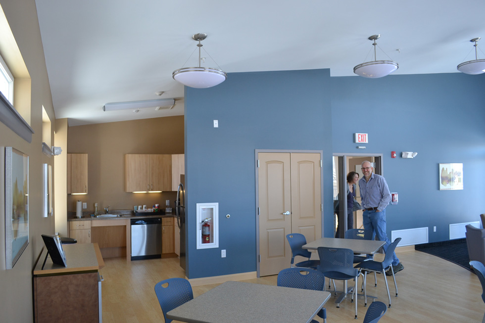 A nice community room that can be reserved for private parties. [PHOTO: RochesterSubway.com]