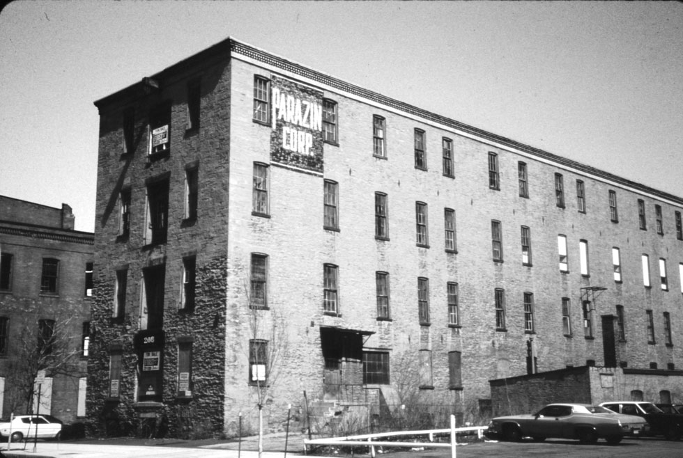 The Parazin Building on Mill Street, Rochester N.Y.