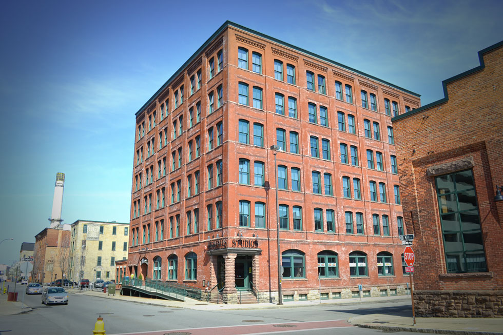 The Partners Building on Mill Street, Rochester N.Y.