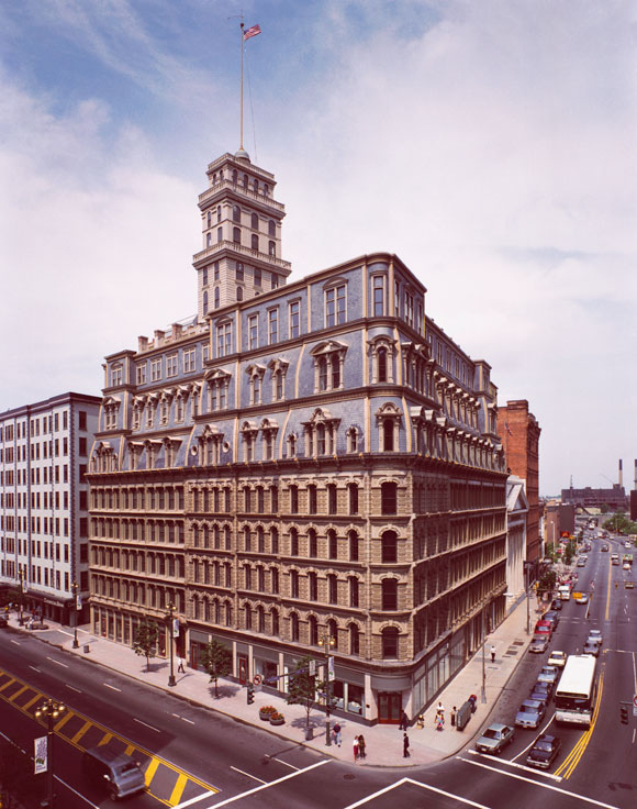 The Powers Building on Main Street, Rochester N.Y.