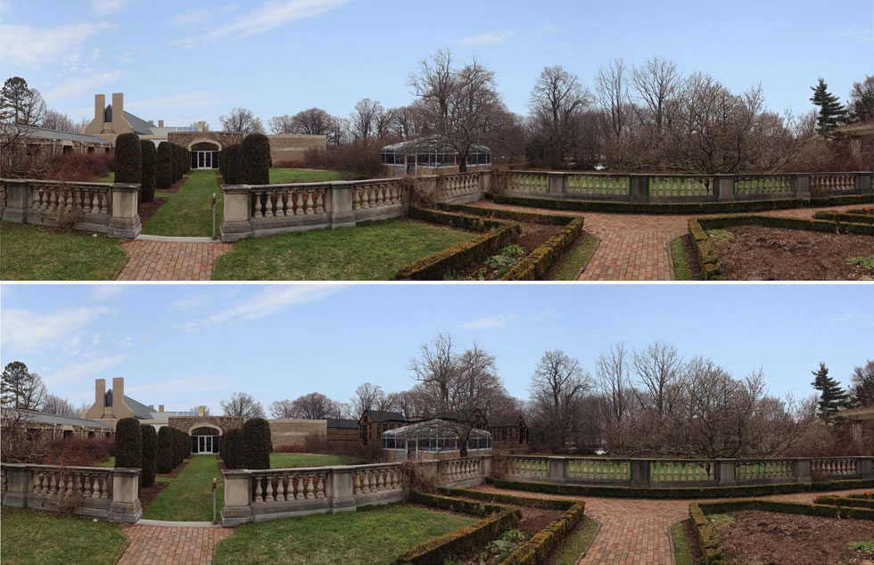 The view from George Eastman House. [IMAGE: Morgan Management]