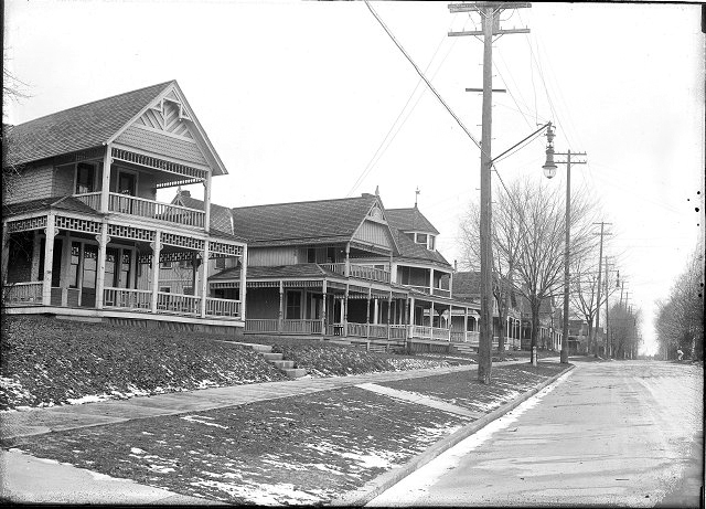 These are some fantastic summer homes along Beach Ave. also around the time of annexation. [PHOTO: Albert R. Stone]