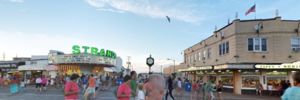 For the area north of Corrigan Street, a little slice of my favorite place on earth: Ocean City, NJ.