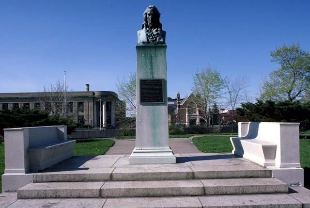 Schiller Monument, Rochester NY. [PHOTO: Rochester City Hall Photo Lab]