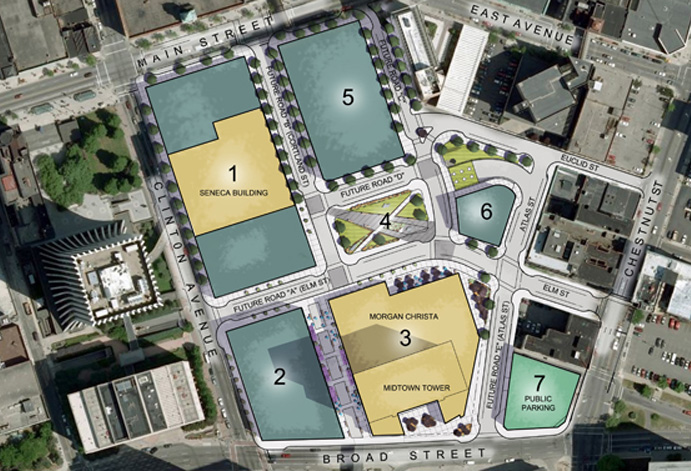 Old Midtown Site Plan.