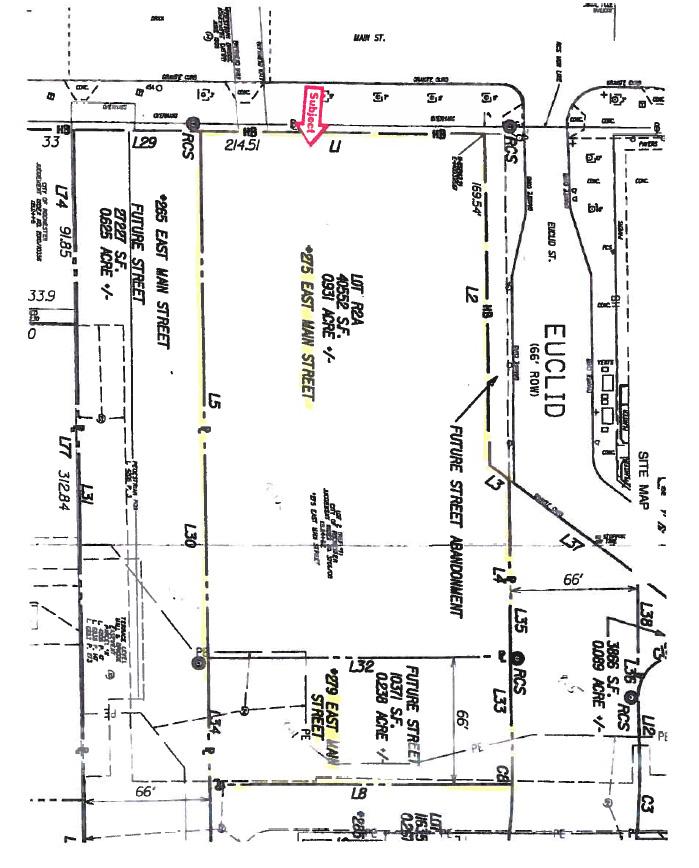 Midtown Parcel 5 Site layout.