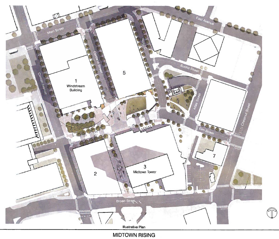 Midtown Site Plan.