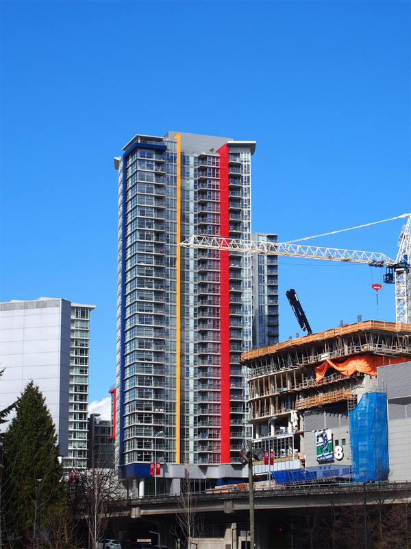 Apartment Building in Vancouver, BC