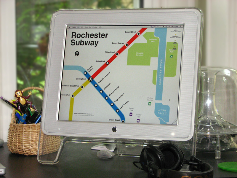 Dress up your PC with free Rochester wallpapers.